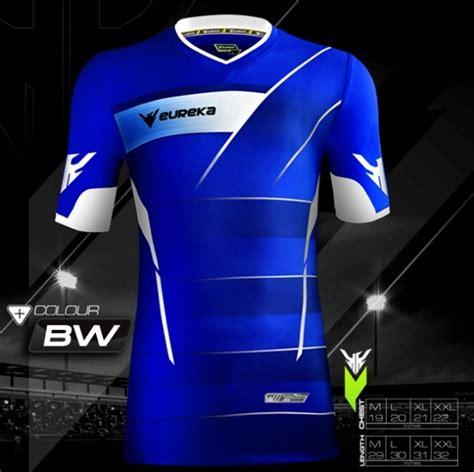 Adidas Kombinasi Biru 31 contoh gambar desain kaos futsal warna biru terbaru