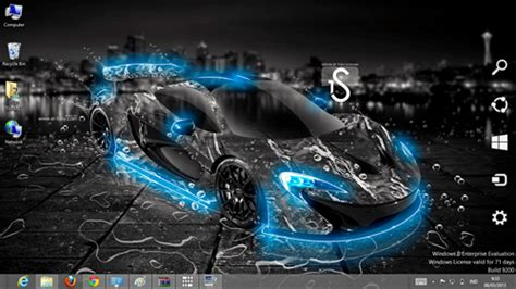 car themes download for pc water car effect theme for windows 7 and 8 ouo themes
