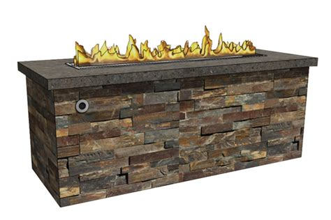 Linear Fire Pit Enclosures Rtf Fireboulder Linear Pit