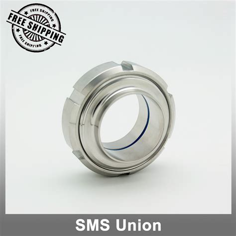 Watermur Union Ss304 2 aliexpress buy free shipping 1 quot sms union santary pipe fitting ss304 from reliable union