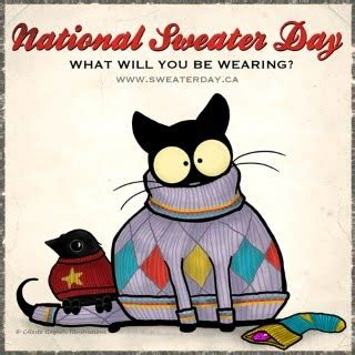 Sweater Sday national sweater day feb 2 st bernard