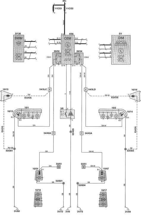 volvo v70 2002 wiring diagrams warning ls