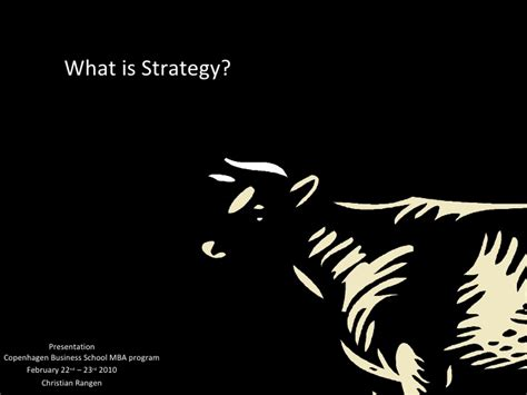 What Is An Mba In Strategy by Summary Lecture On Strategic Management Cbs Mba