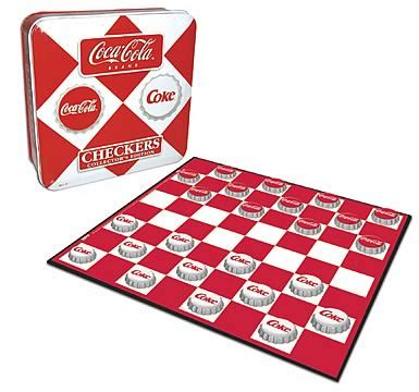 Usaopoly Checkers coca cola checkers usaopoly coca cola at