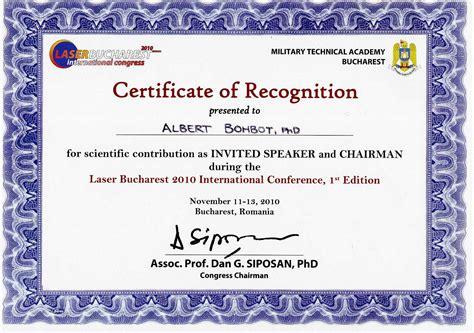 certificate design for symposium modele attestation de reconnaissance 9