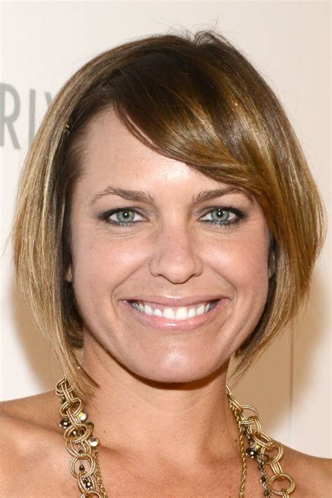 arianne zucker with short hair arianne zucker photos photos arrivals at the thirst