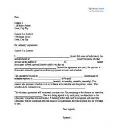 common separation agreement template bc sle alimony letters