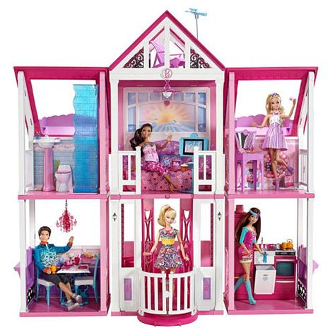 Hot Toys R Us 50 Off Barbie Sale Exclusive Barbie Malibu Dreamhouse Only 54 34