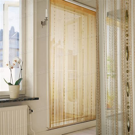screen curtain door string door window curtain divider room windows blind