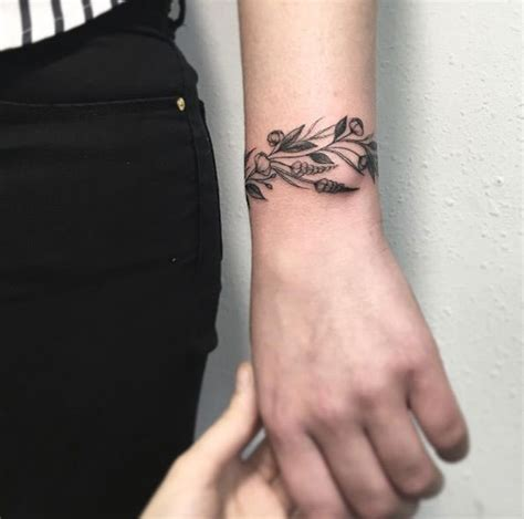 wrist tattoos for women bracelets 70 tattoos that every can pull