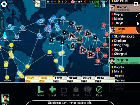 Pandemic Boardgame z goes digital board quest