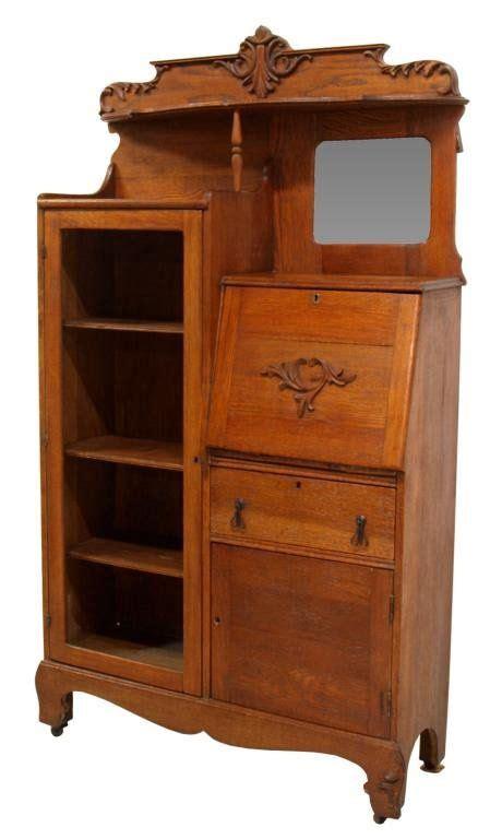 oak side by side larkin desks