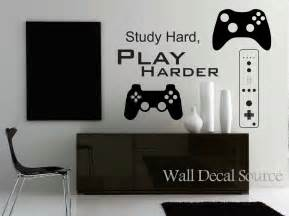 Video Game Wall Stickers game controllers wall decal gamer wall decal reusable