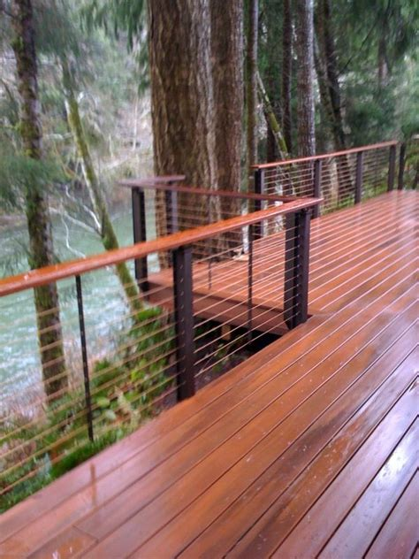 Patio Railings by Best 25 Deck Railing Systems Ideas On Cable