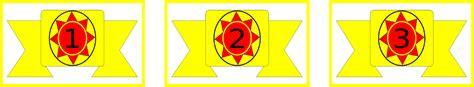 Badge Lengan Kwartir Wilayah atribut seragam lengkap pandu athfal hizbul wathan pandu