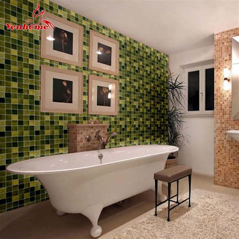 Promo Wallpaper Sticker 45cm X 10 Meter 1 10meters bathroom pvc wallpaper kitchen anti stickers self adhesive wall paper roll wall