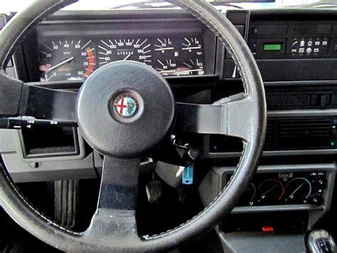 volante alfa 75 foto degli interni delle alfa romeo alfa 75 1 8 turbo
