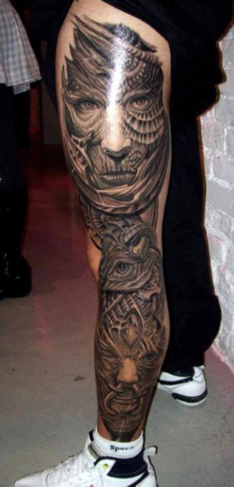 mens thigh tattoos best 25 s leg tattoos ideas on leg