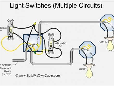 diagram for wiring lights to switch choice image