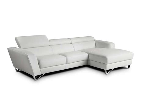 mini sparta white leather sectional sofa leather sectionals