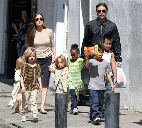 Brangelina And Baby Makes Six by Brad Pitt And Strict Nanny