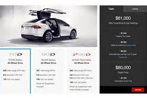 Tesla Electric Car Price Tag 2016 Tesla Model X With More Affordable Price Tag Debuts
