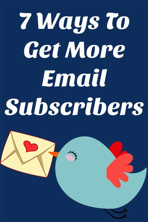 7 Best Ways To Get A To Like You by 7 Ways To Get More Email Subscribers Work In My Pajamas