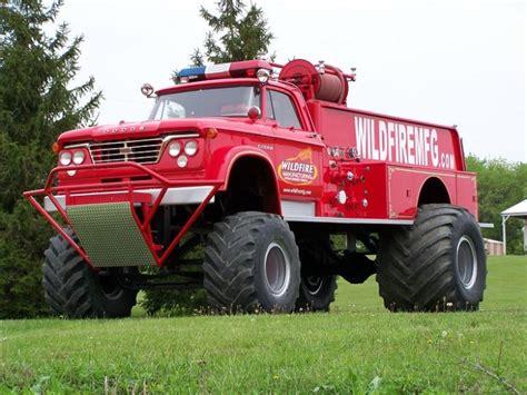 fire trucks monster truck my 1964 dodge w500 power wagon maxim fire truck