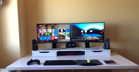 cheap gaming computer desk cheap monitor setup gaming monitor