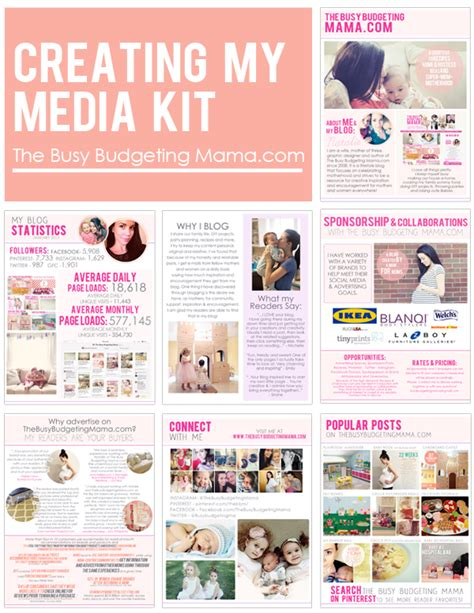home design media kit creating my media kit at home with natalie