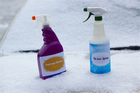 windshield de icer spray for your car