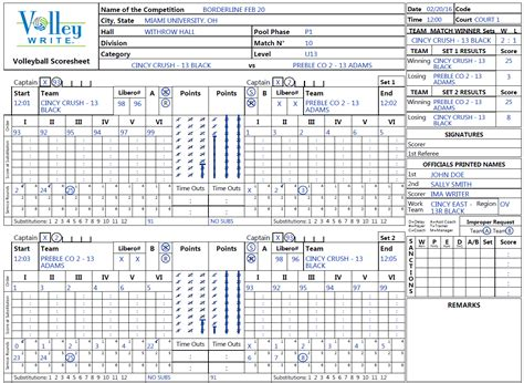 printable high school volleyball rules all levels volleywrite volleyball scoring software