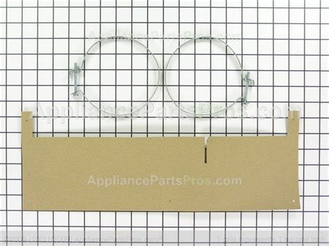 whirlpool w10620783 duct kit appliancepartspros