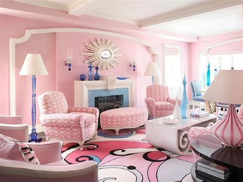 Living Room Modern Pink Ideas For Shabby Chic Living Room Interior Design