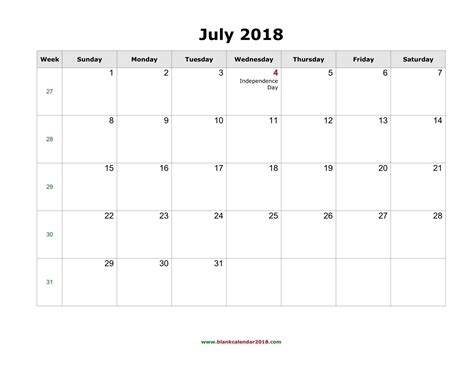 printable calendar 2018 time and date printable calendar july 2018 with holidays