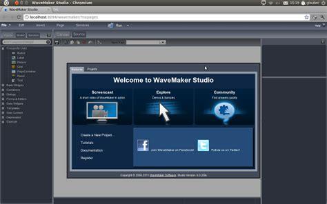 tutorial wavemaker etc desenvolvimento r 225 pido e f 225 cil de aplicativos para