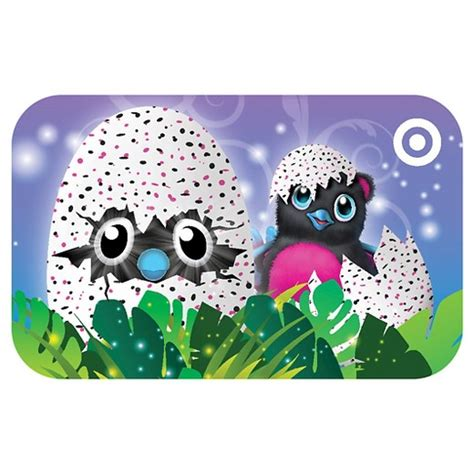 Check Value Of Target Gift Card - hatchimals themed target gift card 25 target