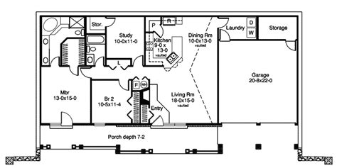 Berm House Floor Plans by Stonehaven Berm Home Plan 007d 0161 House Plans And More