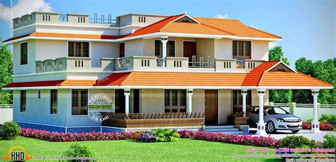 large house designs large house design kerala home design and floor plans