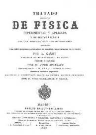 tratado de ateologia fisica tratado elemental de f 237 sica experimental y aplicada y de meteorolog 237 a con numerosa colecci 243 n de