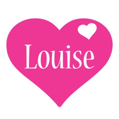 name tag heart design louise logo name logo generator i love love heart