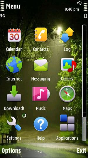 nokia 5233 letter themes application for nokia 5233 mobile9