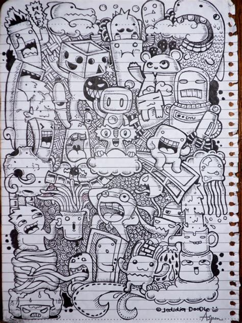my doodle doodle on my backpage of my notebook by jedidia098 on