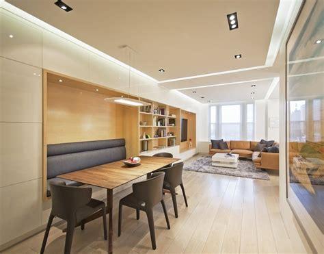 Living And Dining Room Design For Small Spaces 90平米小户型时尚室内餐厅装修效果图大全2012图片 土巴兔装修效果图