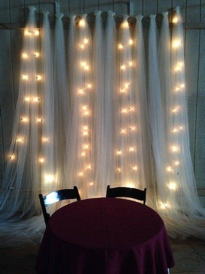 wedding magic with twinkle lights wedding decor floral