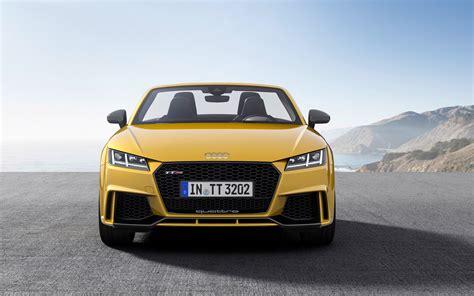 Audi Tt Rs Roadster by 2017 Audi Tt Rs Roadster Wallpaper Hd Car Wallpapers