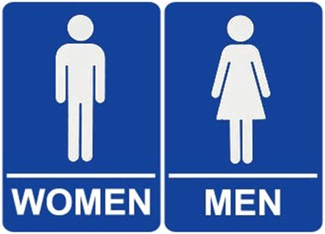 male female bathroom symbols male and female bathroom signs clipart best