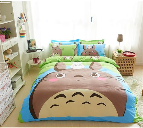 queen size childrens bedding twin queen size cartoon totoro bed linens superman bedding