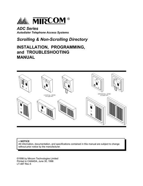 mircom intercom wiring diagram aiphone intercom wiring