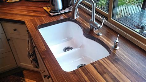 Tung On Butcher Block Countertop by Wood Countertop Options